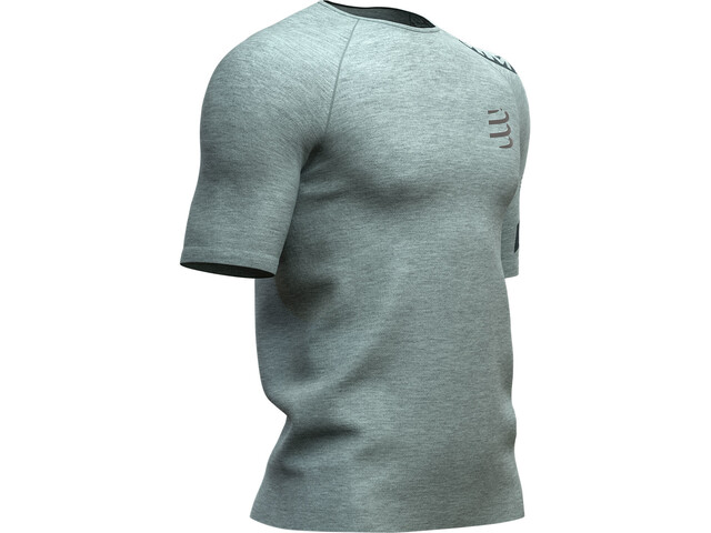 Compressport Training SS T-Shirt Men, grey